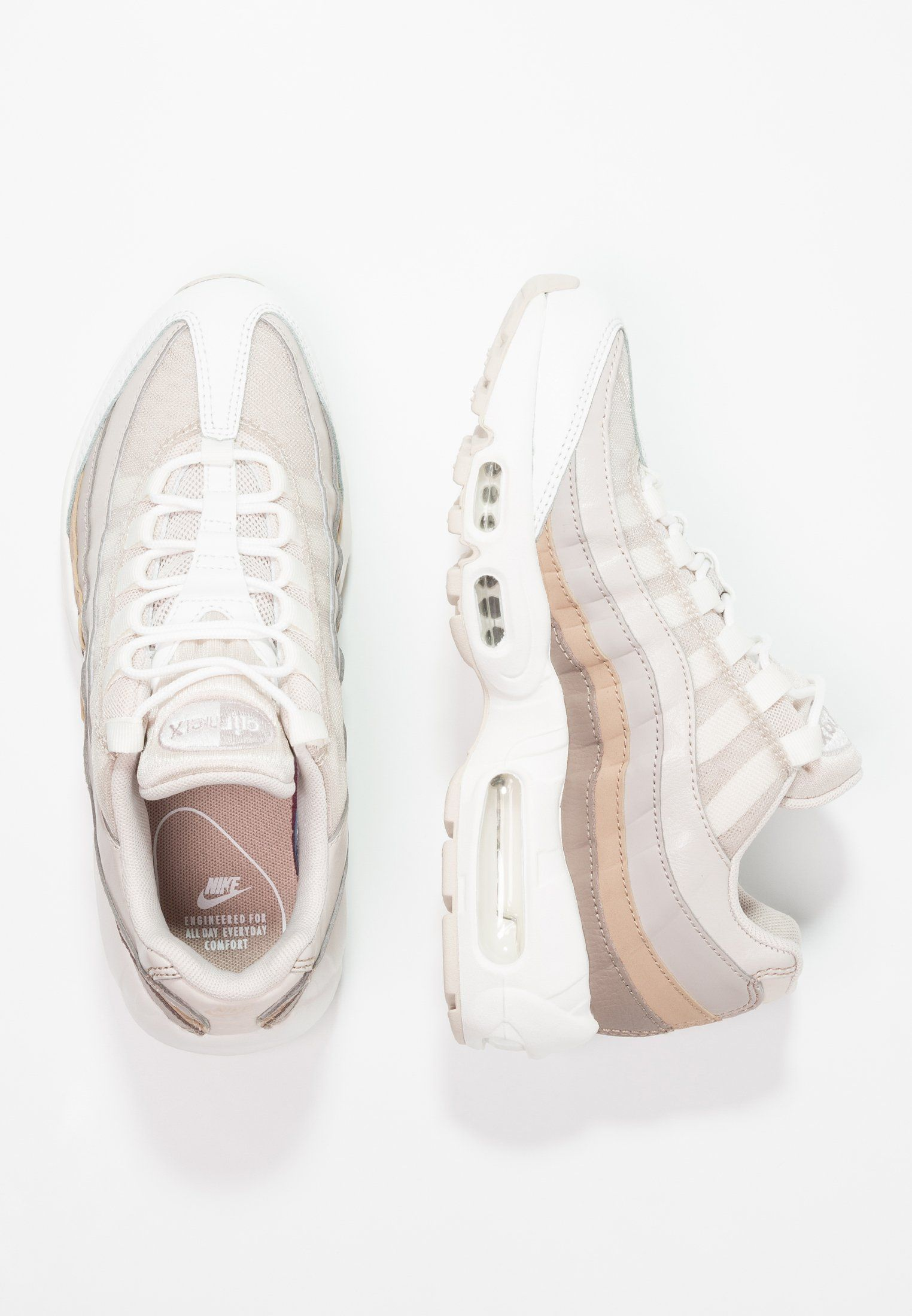 best authentic b71f2 84553 Nike Sportswear AIR MAX 95 - Sneakers - desert sand moon particle sand sepia  stone summit white - Zalando.se