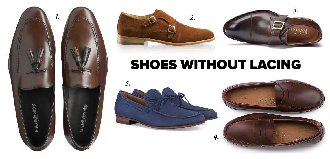 Suit shoes, Shoes, Shoes without laces