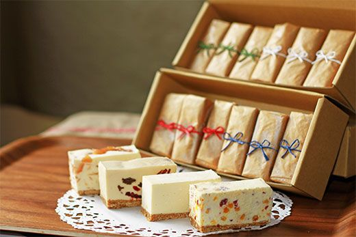 贅沢チーズケーキ4種セット選べるラッピング http://item.rakuten.co.jp/koganei/10000023/