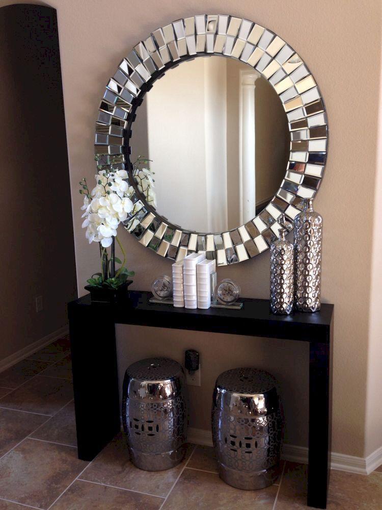 Spiegel Mosaik Spiegel Schminktisch Orientalisch Silber