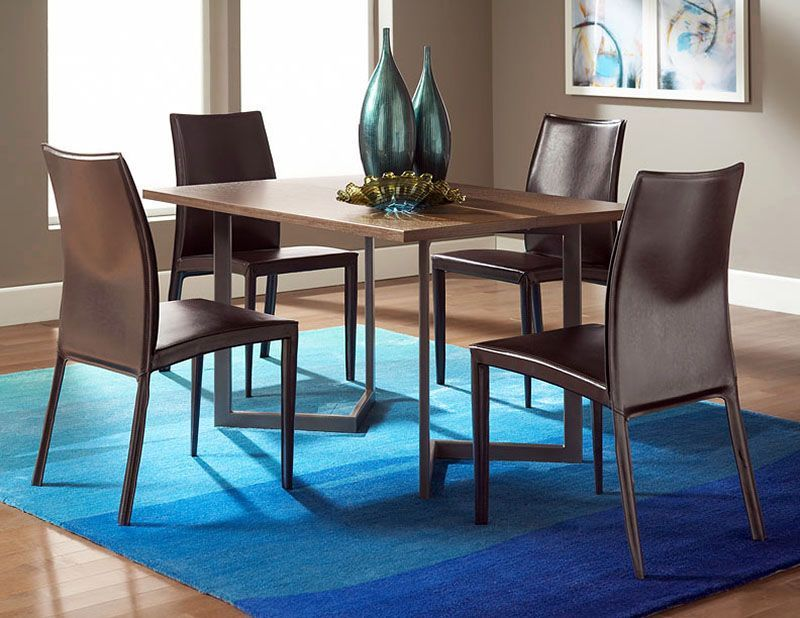 Conal Dining Room With Glide Chairs Via Cort Furniture Dining Room Accents Residential Furniture Furniture