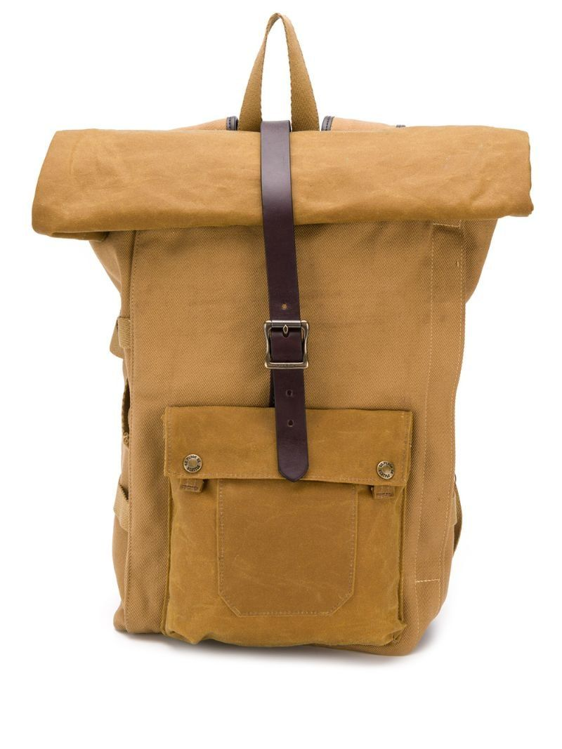 Roll Top Backpack Top Backpacks Artificial Leather Backpacks