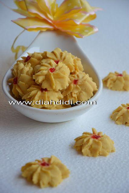 diah didis kitchen kue semprit vanila jadul kue resep kue keju makanan Resepi Semperit Susu Enak dan Mudah