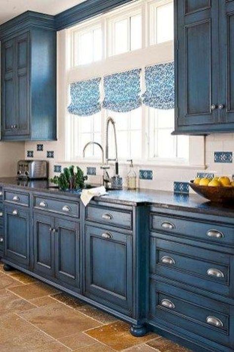 35 The Best Country Farmhouse Kitchen Design Ideas To Modify Your Kitchen #farmhousekitchencolors