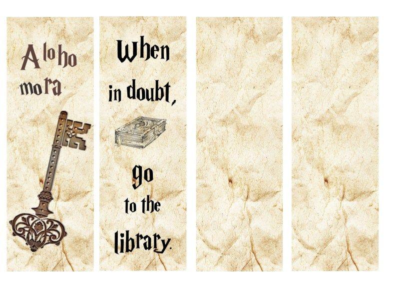 Resultat De Recherche D Images Pour Marque Page Harry Potter A