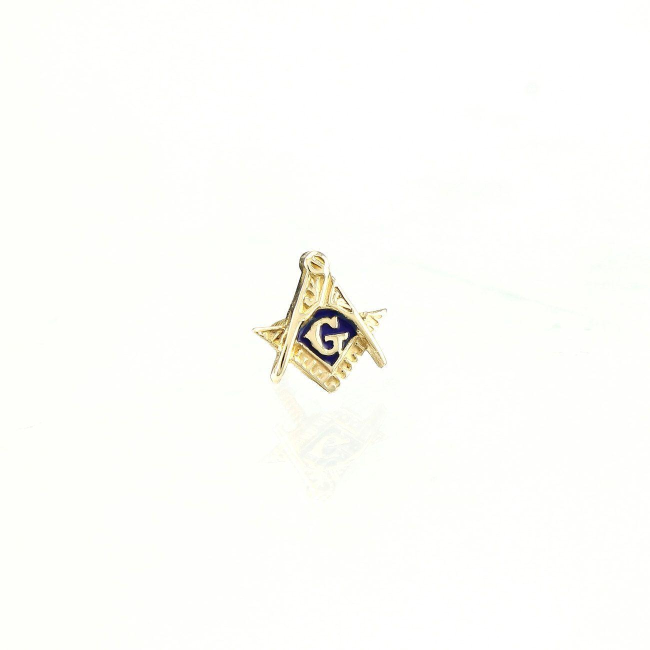 Masonic Pin - 10K Gold Vintage by VintageMasonry on Etsy