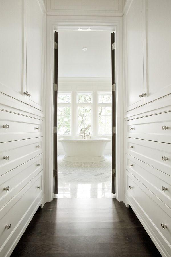 Best Built In Lined Hallway Into The Bathroom Remodel Bedroom 400 x 300