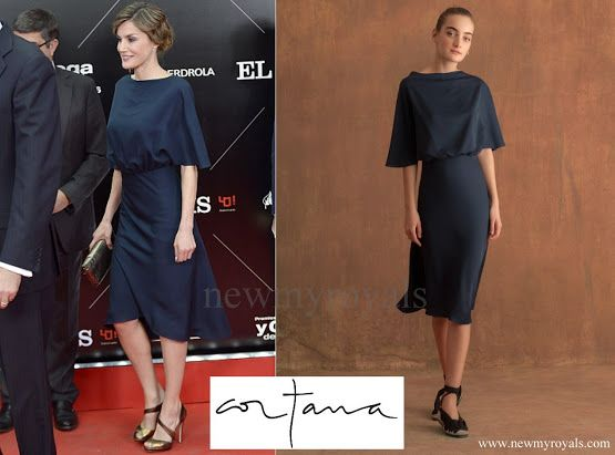 Queen letizia attended the el pais th anniversary dinner and
