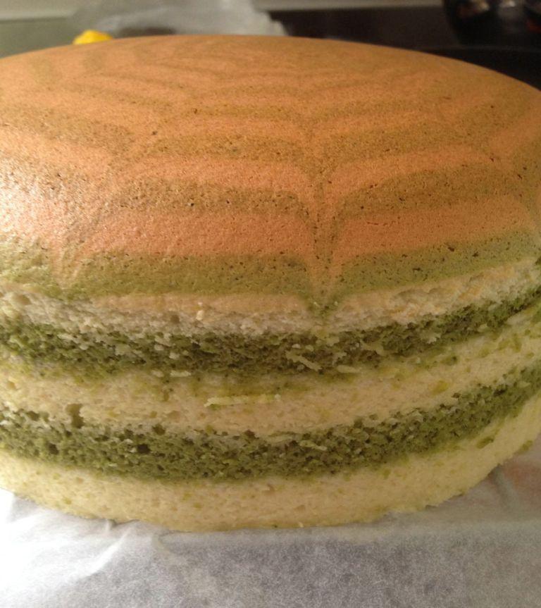 Japanese cotton matcha cheesecake