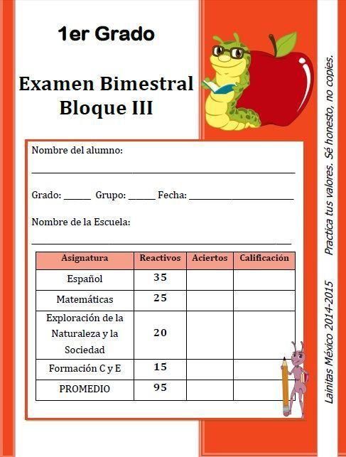 EJERCICIOS COMPLEMENARIOS LAINITAS 1°, 2° , 3°, 4° y 5° BIM 14-15   zomaral14