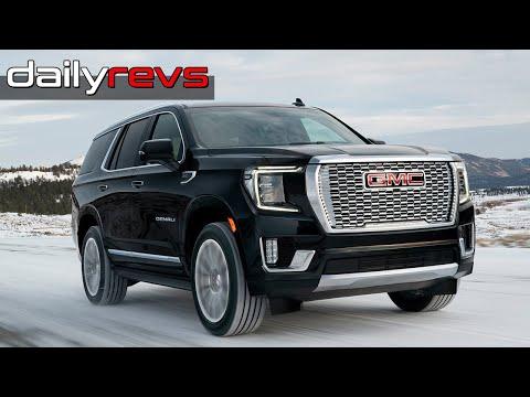 2021 Gmc Yukon Denali Driving Design Dailyrevs Com Yukon