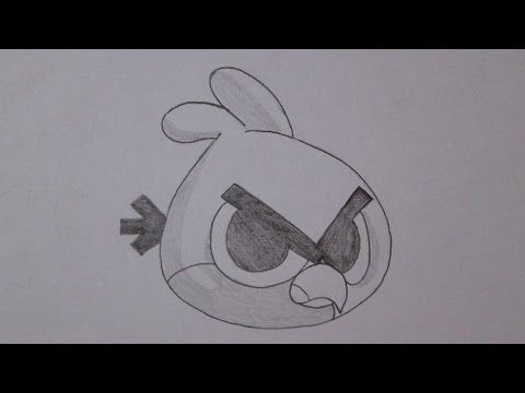 Como Desenhar O Red Bird De Angry Birds Versao Chibi Youtube