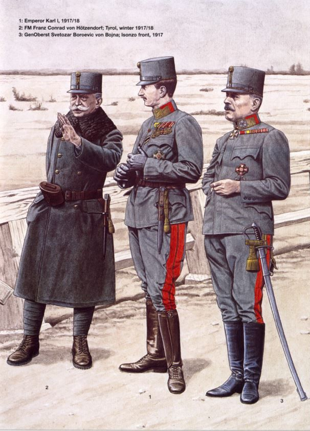 8075b4eaffa Officers in Italy. WW1 - Austria Ungheria.