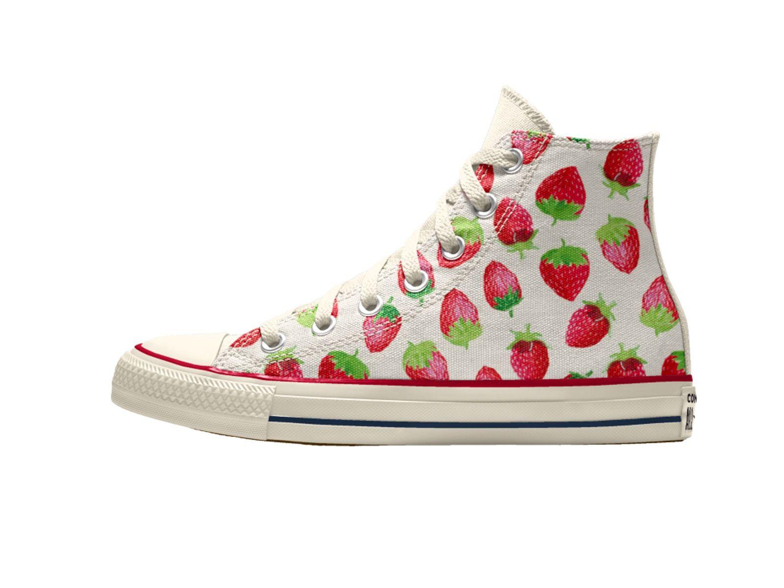 Converse Strawberry Pattern Spring 2020