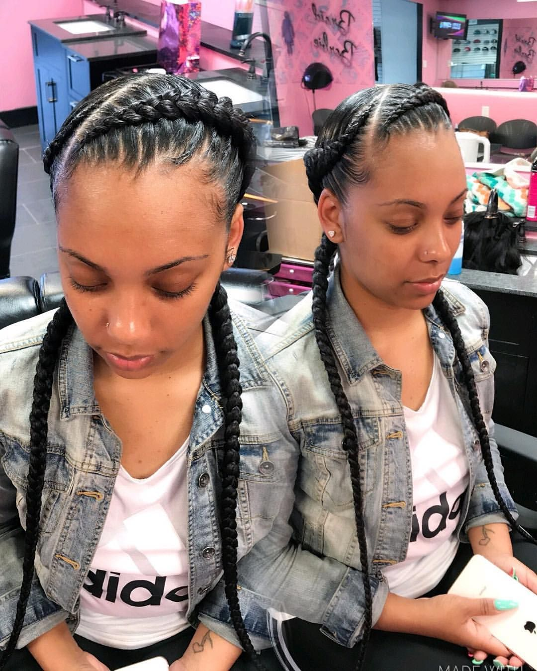 Pocahontas Braids Braidbarbiegang Two Braid Hairstyles