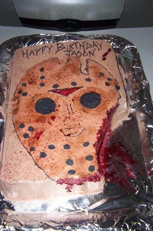 Jason Voorhees Cake Horror Cakes Horror Cake Jason