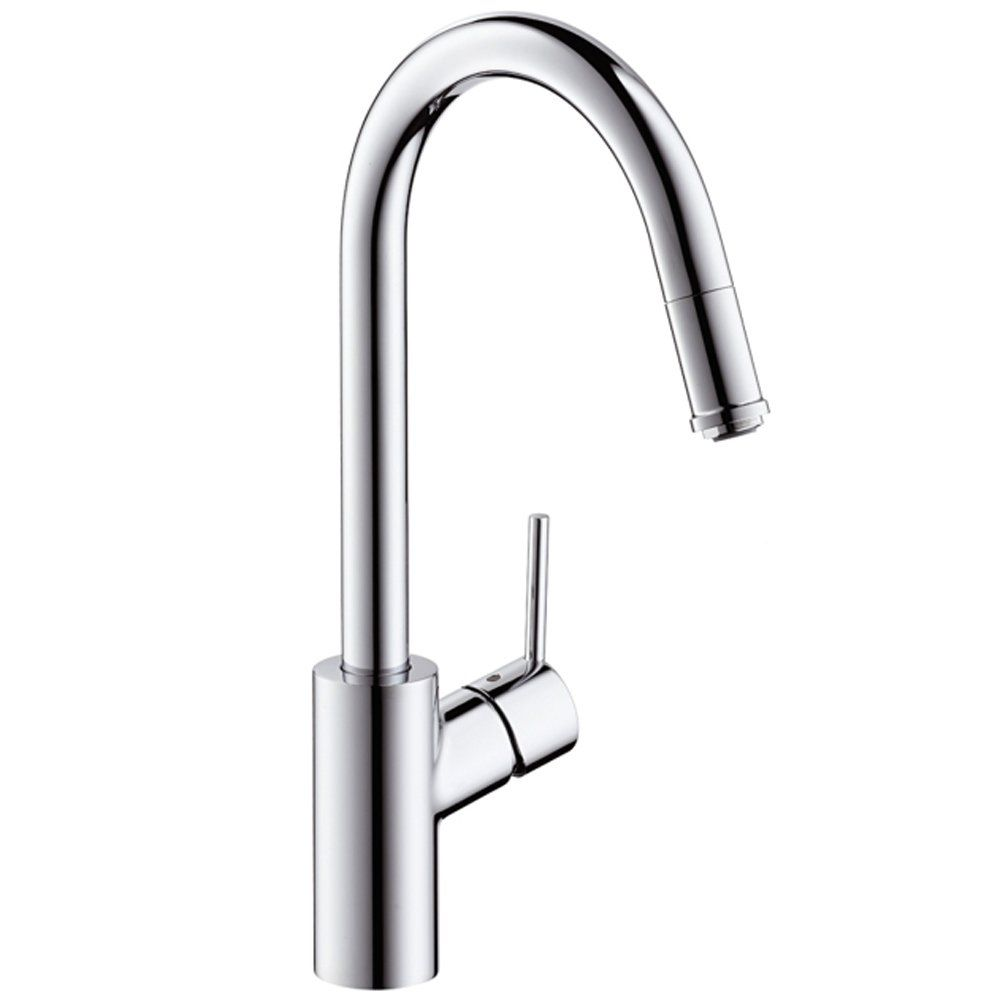Hansgrohe Talis S² Stainless Steel Optic Variarc Single Lever ...