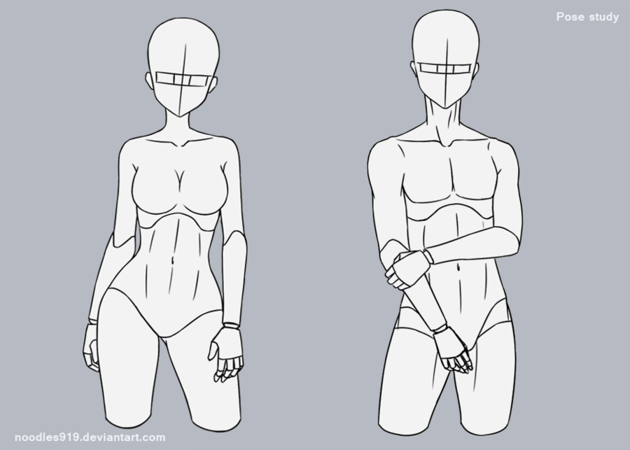 Pose Study 2 By Noodles919 Adopts Art Reference Poses Art Sketches Drawing Base