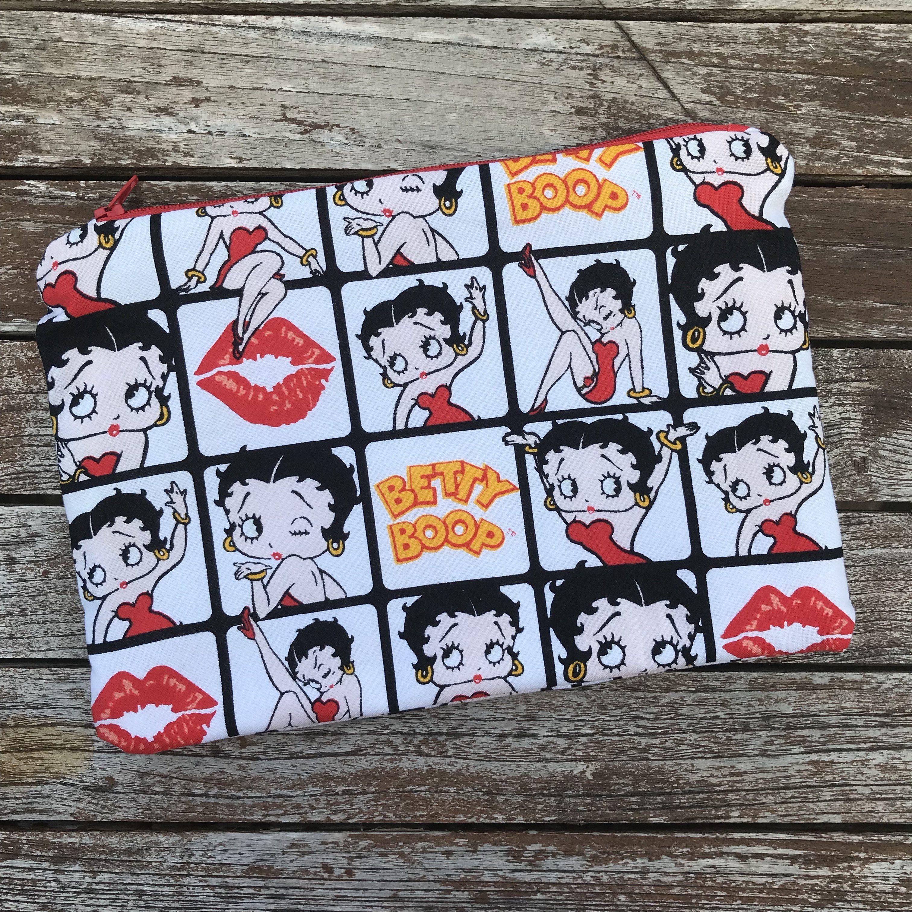 Betty Boop Small Makeup Bag Small makeup bag, Bags