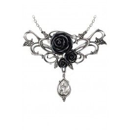 Bacchanal Rose Necklace #alchemyofengland #alternative #altfashion #goth #jewelry #evil