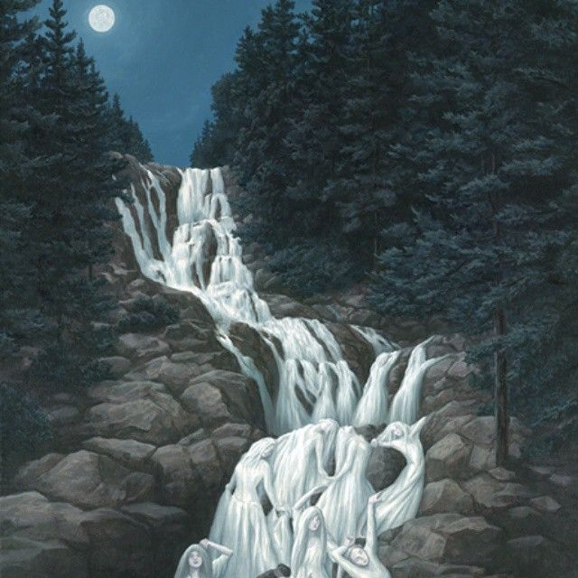 Rob Gonsalves On Instagram Optical Illusion Paintings Optical