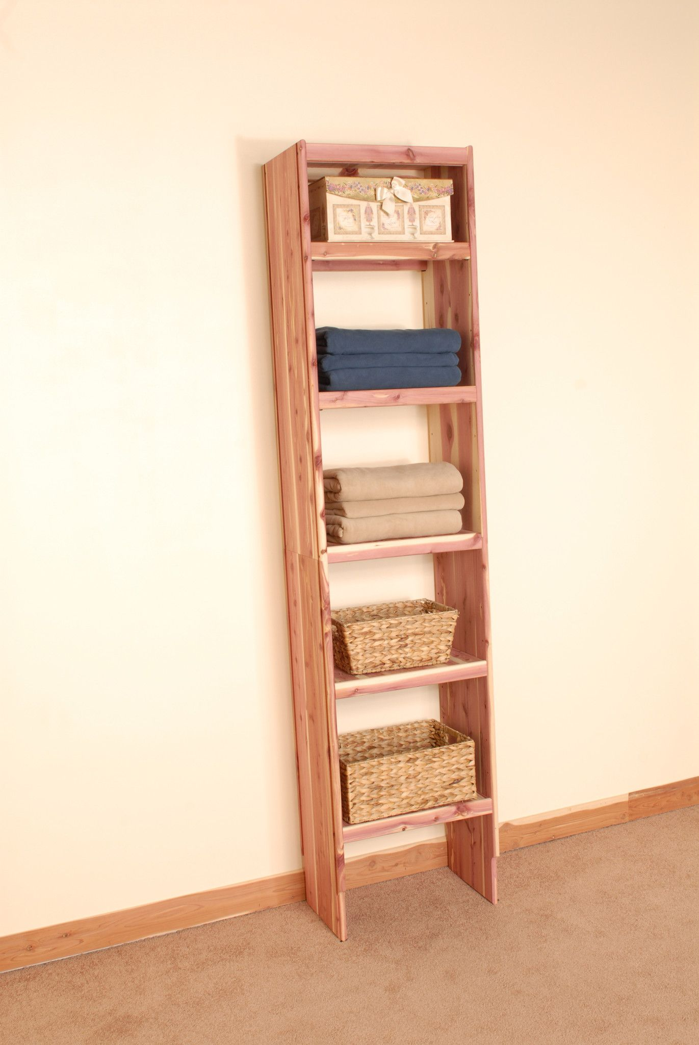 Deluxe Solid Wall Closet Organization Kit 8u0027. Closet StorageCloset  OrganizationCedar ...