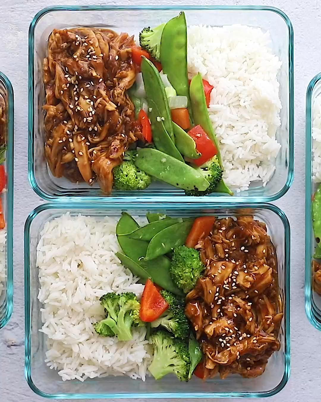 Crock Pot Teriyaki Chicken - Meal Prep Recipes -   18 meal prep recipes for weight loss keto ideas