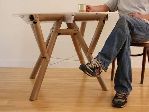 cardboard tube furniture. Paper Or Plastic Table Cardboard Tube Furniture N