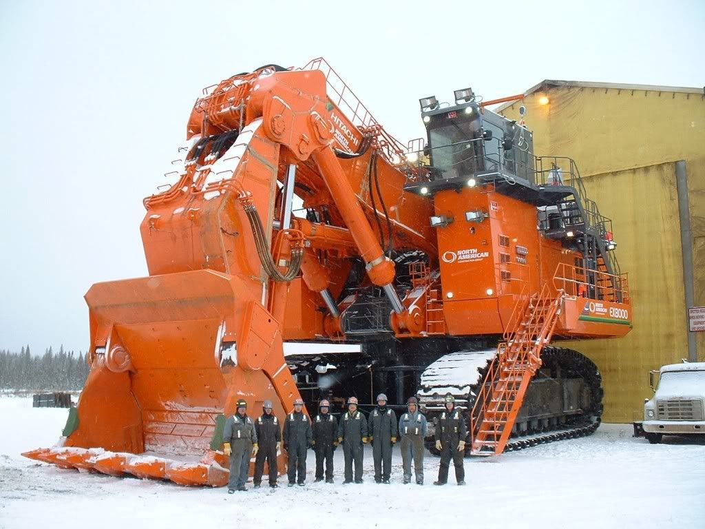 Hitachi ex 8000 heavy equipment