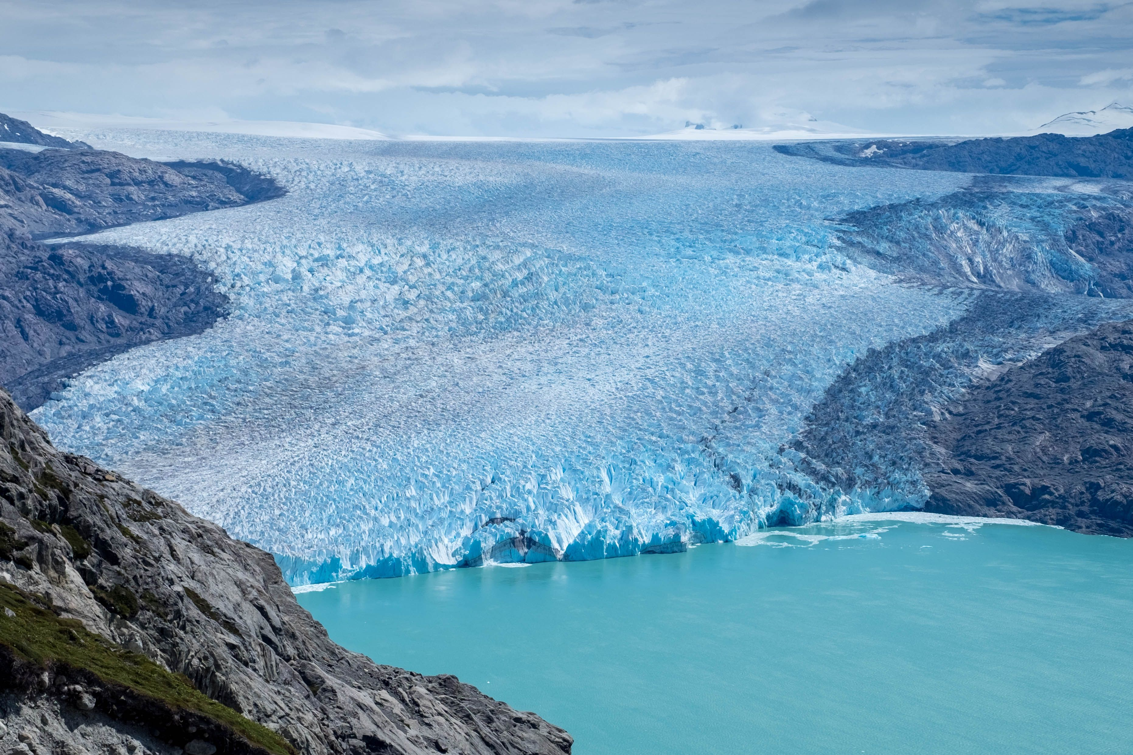 Glacier O'Higgins Southern Patagonian Ice Field Chile