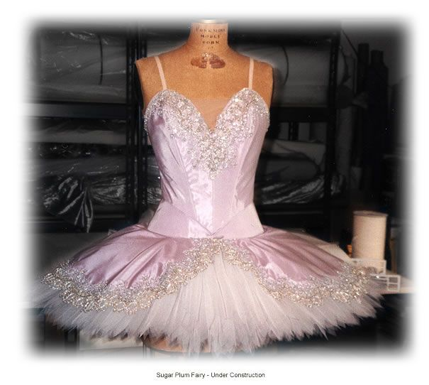 Sugar Plum Fairy costume. Makes you want to dance.