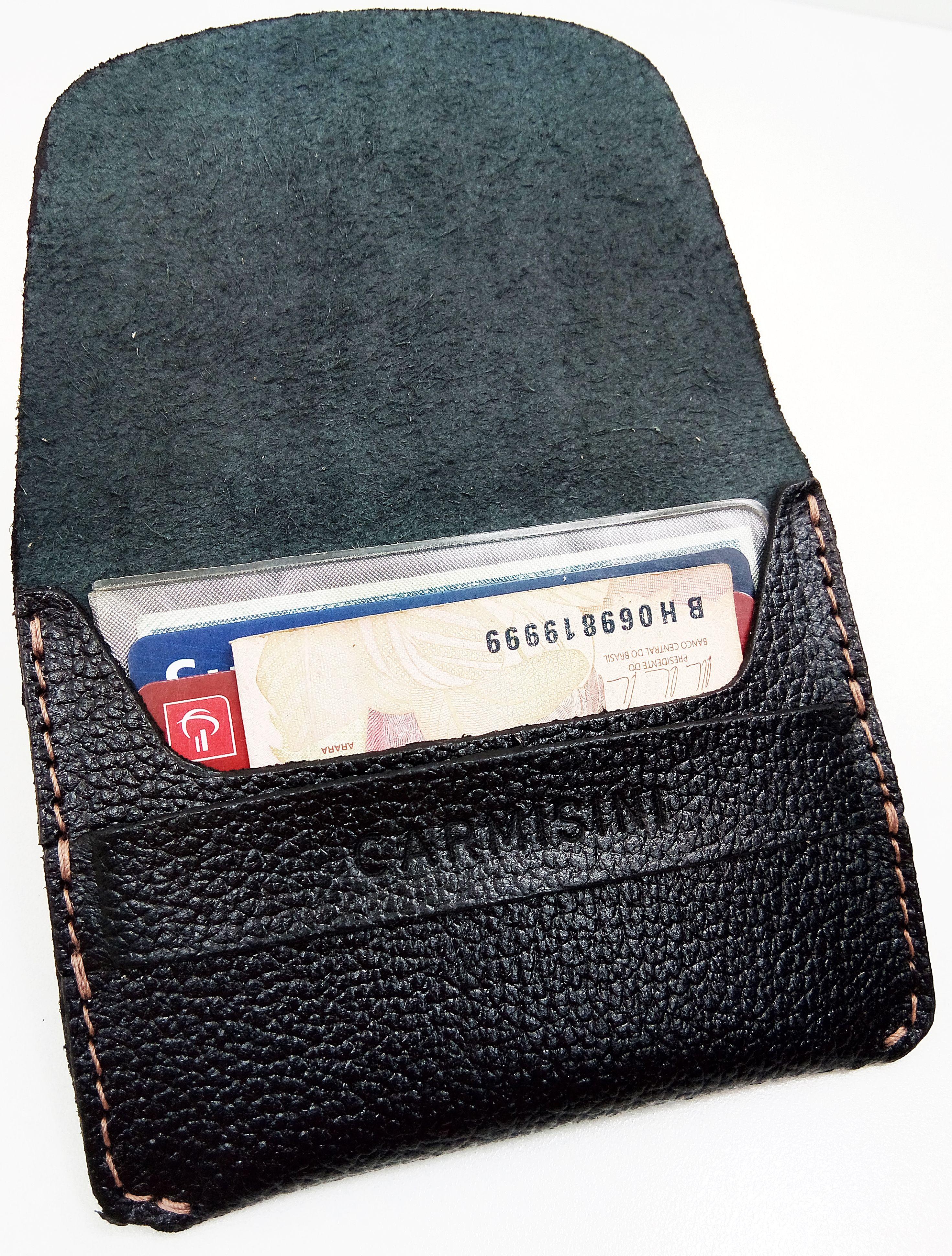 0d672b88d Carteiras slim   Carteira Masculina   Carteira Pequena   Porta Cartão   Porta  Cartões  Carteira