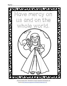 Free Divine Mercy Printable For Year Of Mercy Divine Mercy Year