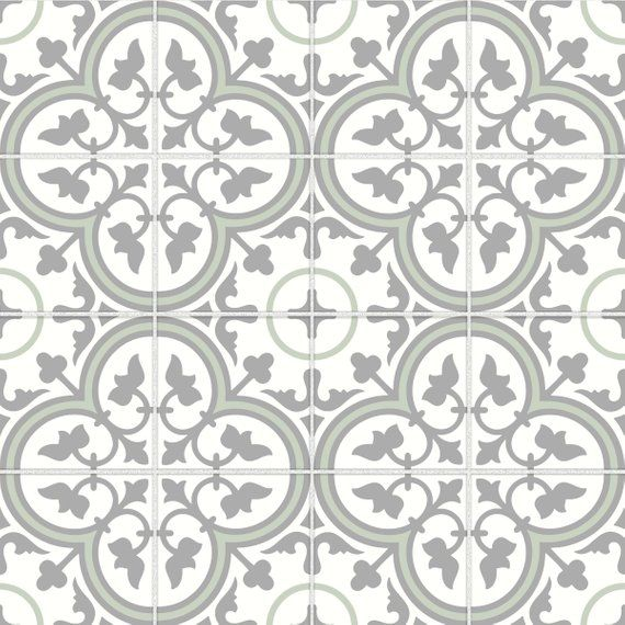 Tile Stickers Vinyl Decal Waterproof Removable For Kitchen Bath Wall