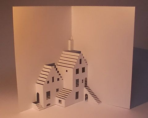 Baud And Bui Origamic Architecture Kirigami Cards For Free Kirigami Pop Up Art Origami Architecture