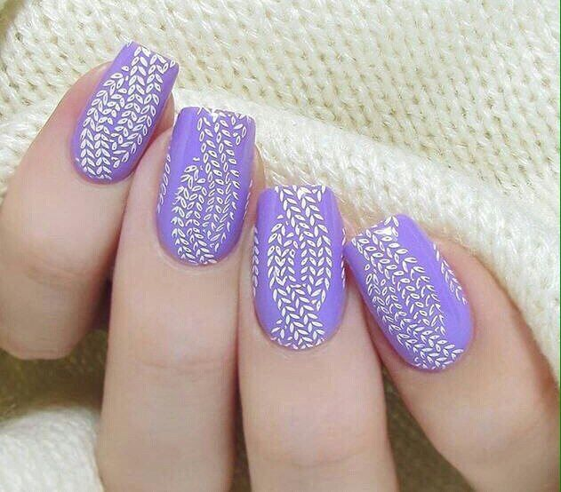 Everyday nails, Ideas of lilac nails, Light lilac nails, Lilac nails,  Manicure - Nail Art #2200 - Best Nail Art Designs Gallery Lilac Nails, Nail