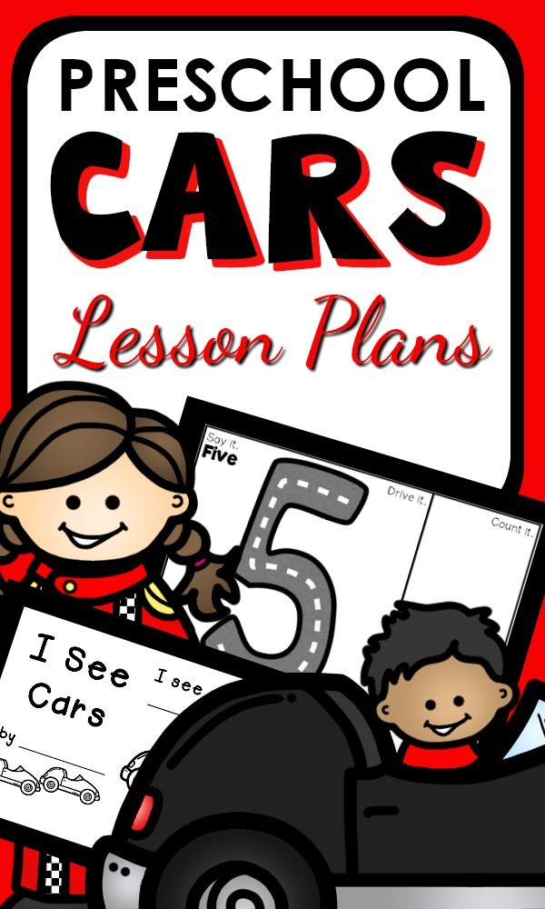 Car Theme Activities For Preschoolers With Editable Lesson Plans Playful Learning And Related Printables