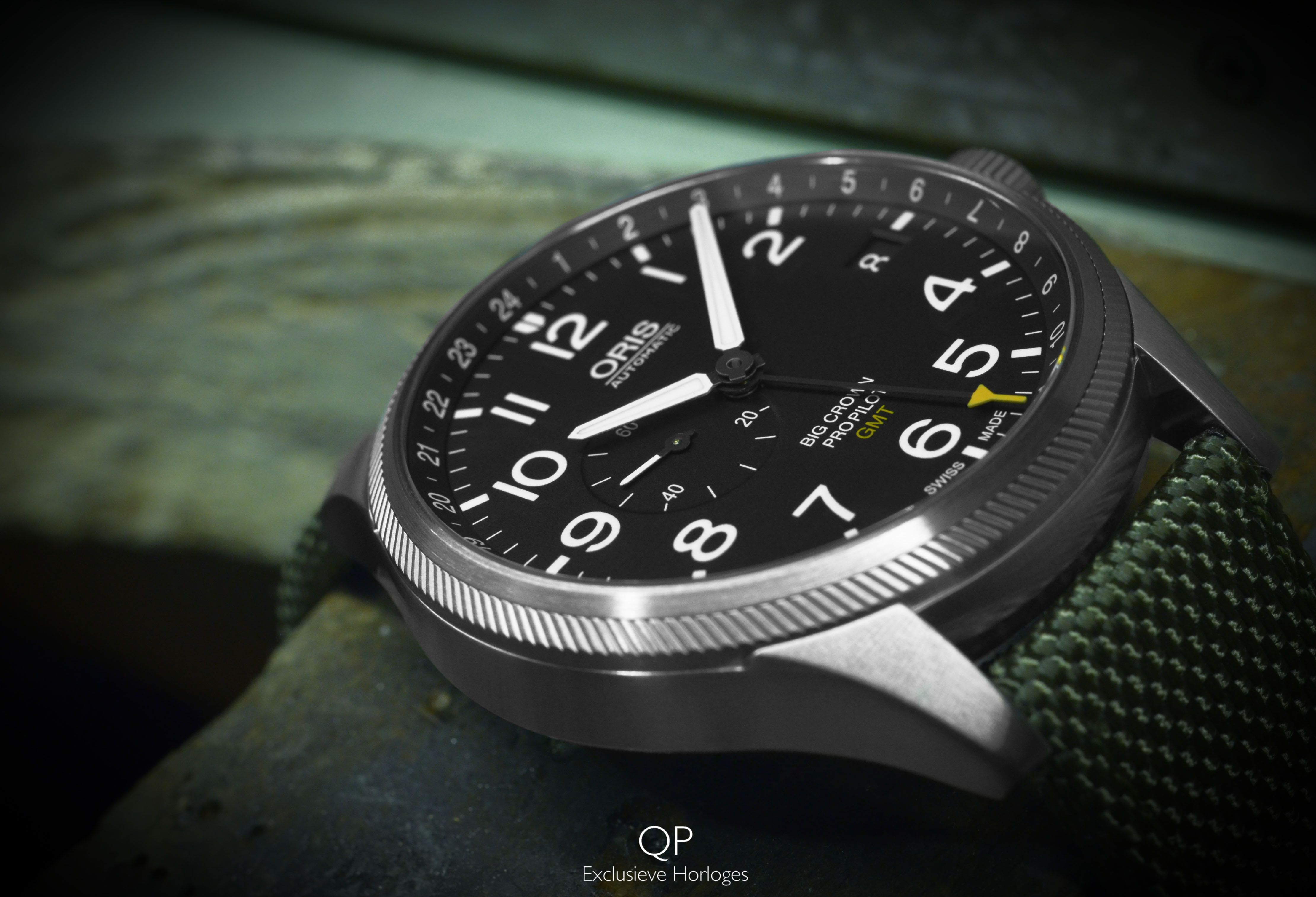 Here We Have The Characteristic Oris Big Crown Pro Pilot Gmt Small Second It Is Just One Of Several Products That S The Result Of Oris Long Sta メンズ 時計 時計 メンズ