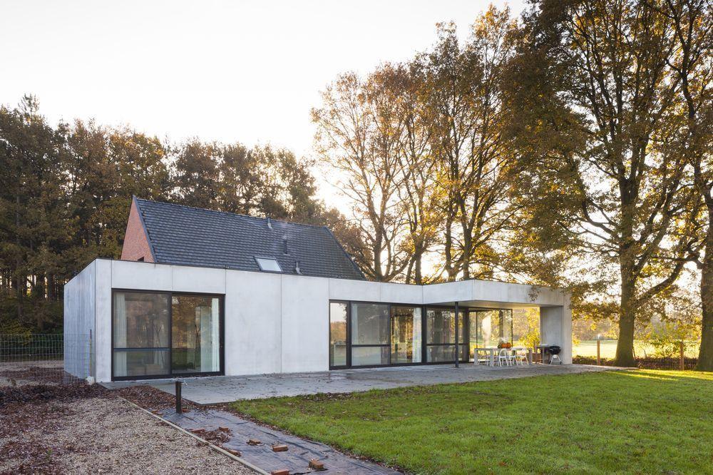 In beeld van een saai huis tot een moderne creatieve woning kv