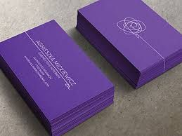 Image result for dark purple business cards with silver writing