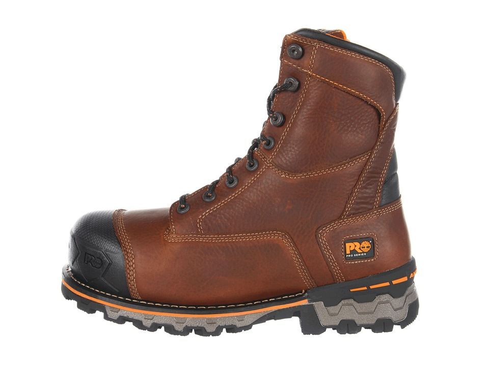 Timberland PRO Boondock WP Insulated Soft Toe Men's Work Boots Brown