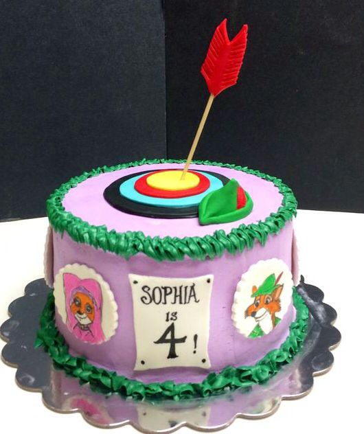 Disney Robin Hood Cake Disney Cakes Pinterest Party Robin And