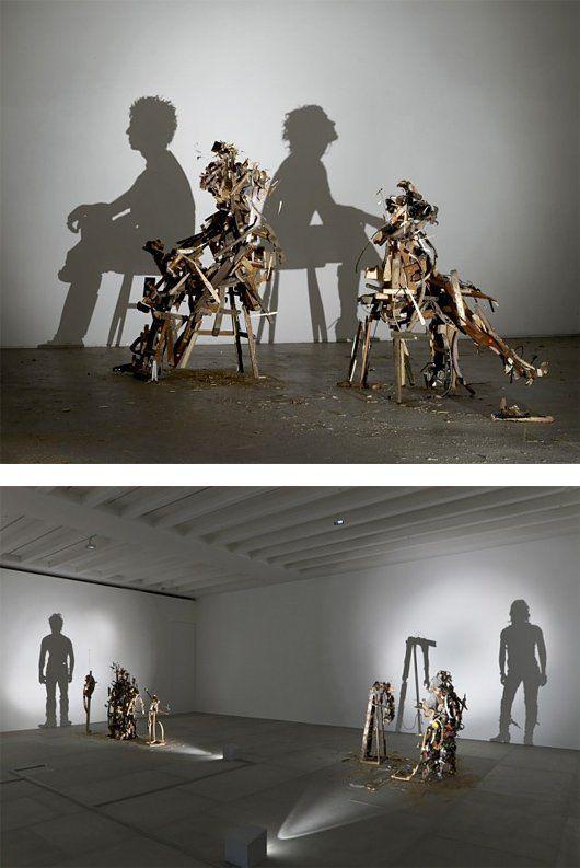 shadow art fashion