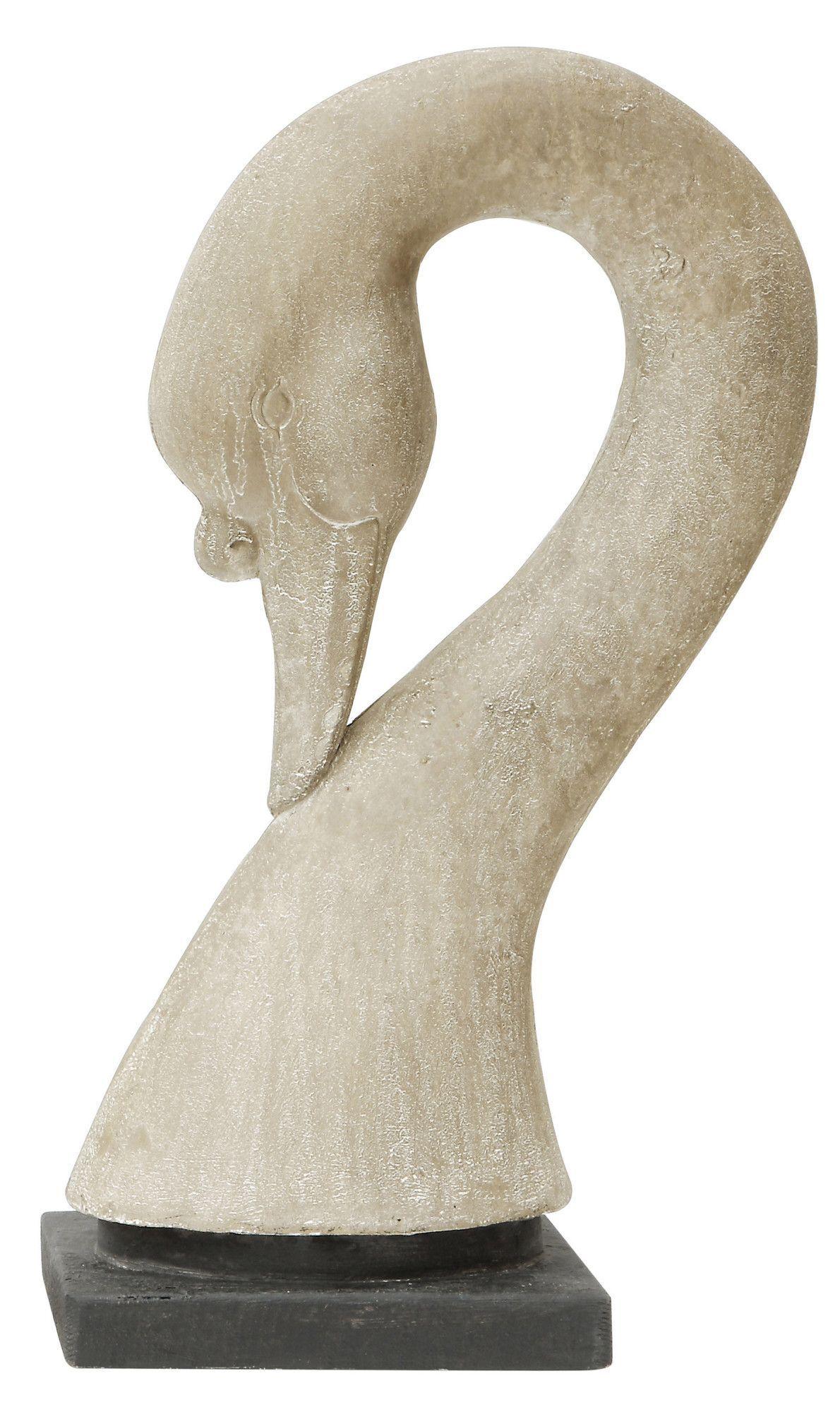 Grange Swan Head Sculpture