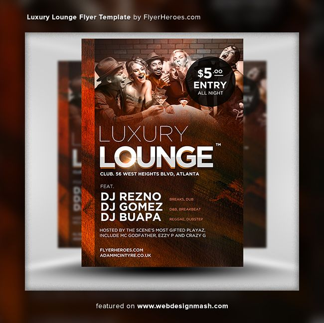 20 new free club flyer templates