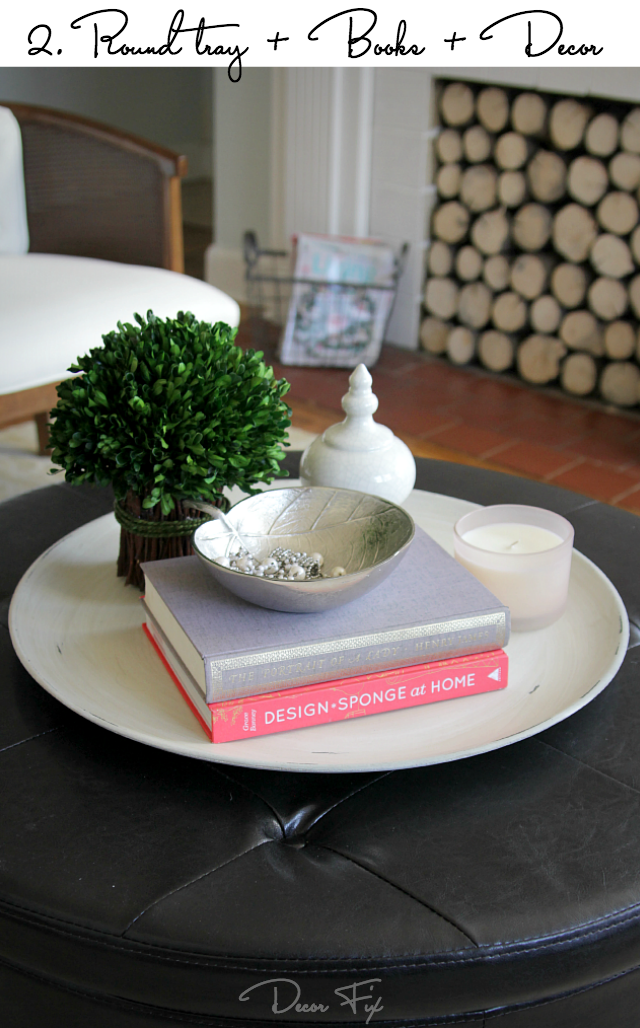 How To Style A Round Coffee Table Decor Fix Home
