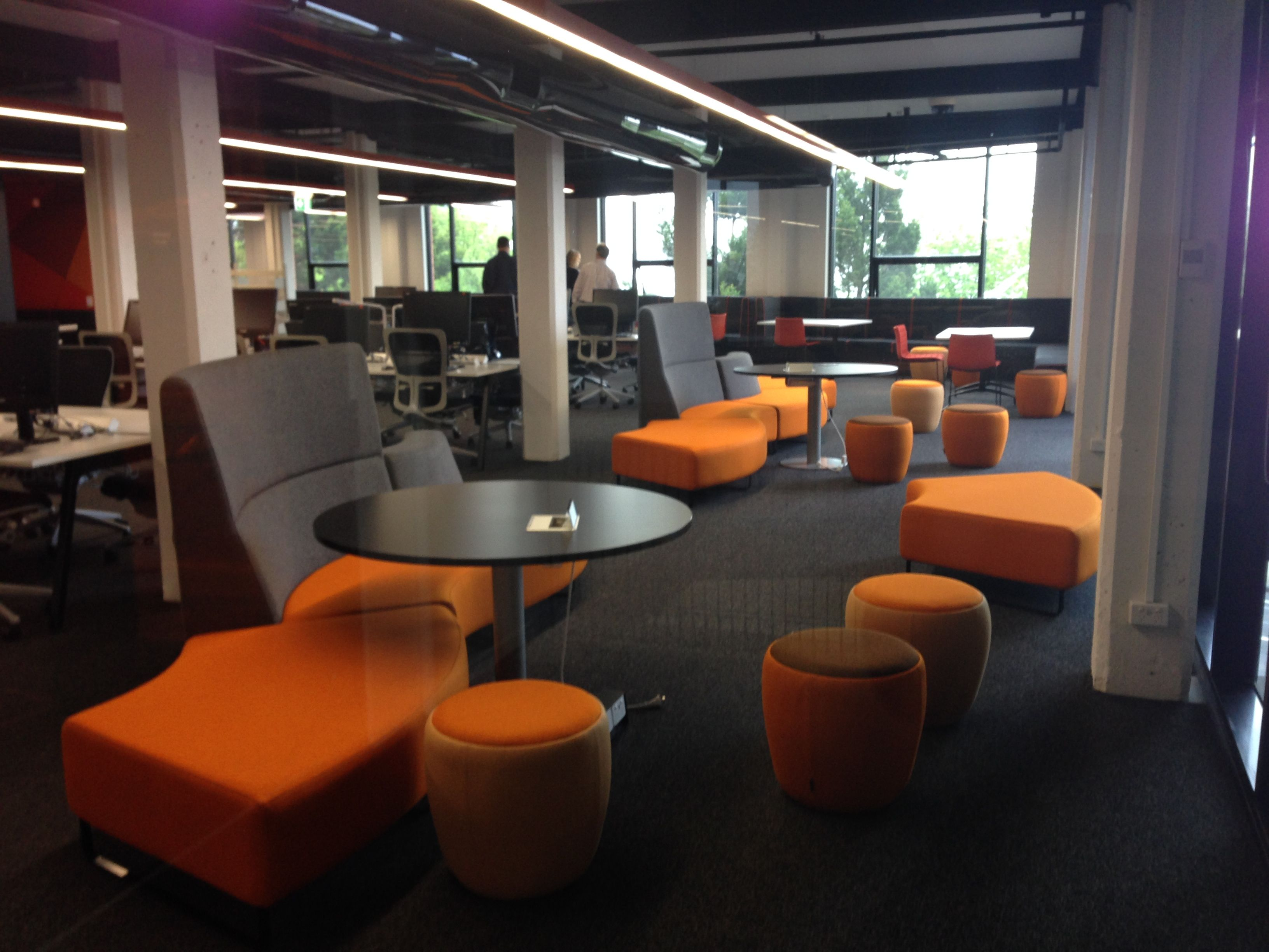 Student Lounge Design on Behance