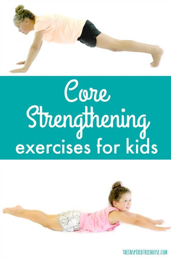 The Easiest Core Strengthening Exercises for Kids -   24 fitness challenge for kids