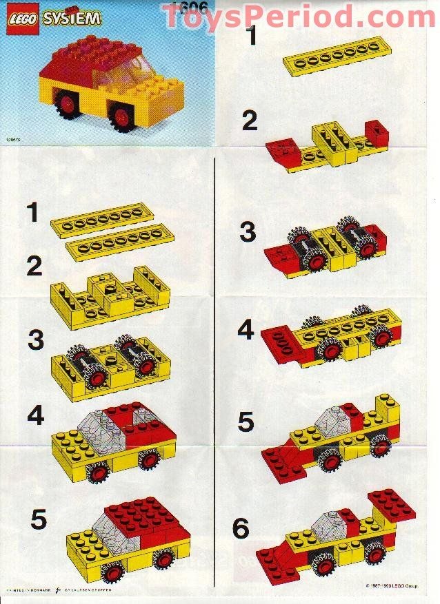 Image Result For Lego Car Instructions Lego Pinterest Lego And