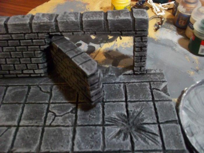 """""""Secret Door"""" in the Dungeon Room terrain piece. Click to"""